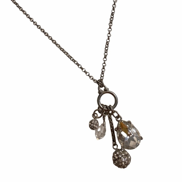Banana Republic | Silver-Tone Charm Necklace